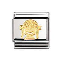 modulaire unisex bijoux Nomination Composable 030110/03