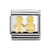 modulaire unisex bijoux Nomination Composable 030110/05