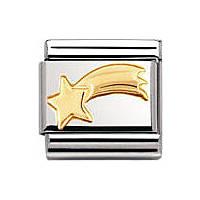 modulaire unisex bijoux Nomination Composable 030110/20