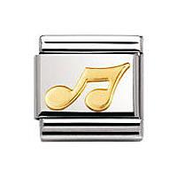 modulaire unisex bijoux Nomination Composable 030117/02