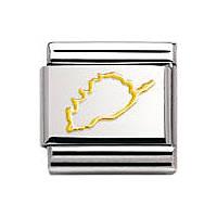 modulaire unisex bijoux Nomination Composable 030128/06