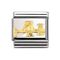 modulaire unisex bijoux Nomination Composable 030143/02