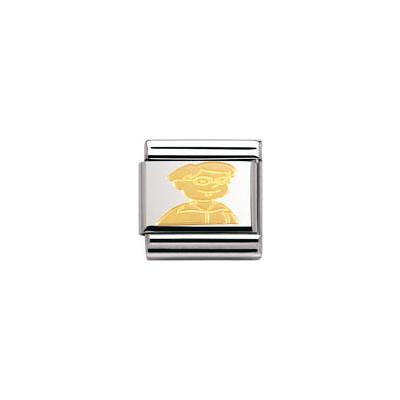 modulaire unisex bijoux Nomination Composable 030149/17