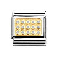 modulaire unisex bijoux Nomination Composable 030153/02