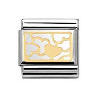 modulaire unisex bijoux Nomination Composable 030153/11