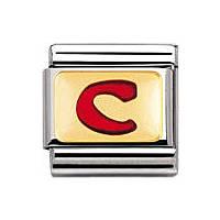 modulaire unisex bijoux Nomination Composable 030202/03