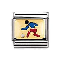 modulaire unisex bijoux Nomination Composable 030203/02