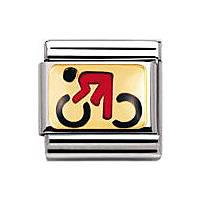 modulaire unisex bijoux Nomination Composable 030203/06