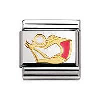 modulaire unisex bijoux Nomination Composable 030203/36