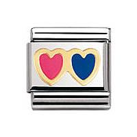 modulaire unisex bijoux Nomination Composable 030207/03