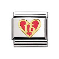 modulaire unisex bijoux Nomination Composable 030207/44