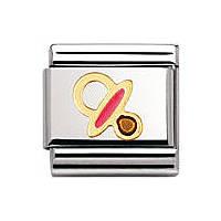 modulaire unisex bijoux Nomination Composable 030208/41