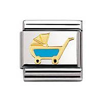 modulaire unisex bijoux Nomination Composable 030208/48