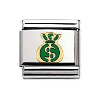 modulaire unisex bijoux Nomination Composable 030209/16