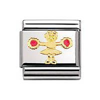 modulaire unisex bijoux Nomination Composable 030209/39