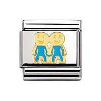 modulaire unisex bijoux Nomination Composable 030209/47