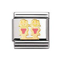 modulaire unisex bijoux Nomination Composable 030209/48