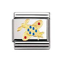 modulaire unisex bijoux Nomination Composable 030210/06