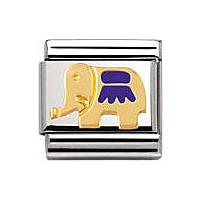 modulaire unisex bijoux Nomination Composable 030212/26