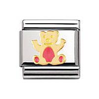 modulaire unisex bijoux Nomination Composable 030212/32