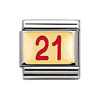 modulaire unisex bijoux Nomination Composable 030230/16