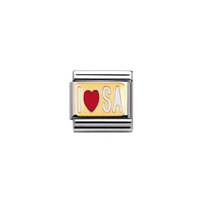 modulaire unisex bijoux Nomination Composable 030231/46