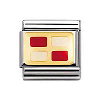 modulaire unisex bijoux Nomination Composable 030233/21