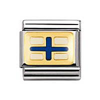 modulaire unisex bijoux Nomination Composable 030233/24