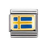 modulaire unisex bijoux Nomination Composable 030234/01