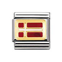modulaire unisex bijoux Nomination Composable 030234/02