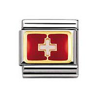 modulaire unisex bijoux Nomination Composable 030234/09