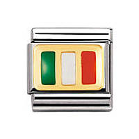 modulaire unisex bijoux Nomination Composable 030234/10