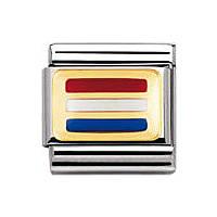 modulaire unisex bijoux Nomination Composable 030234/12