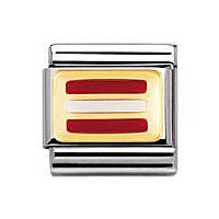 modulaire unisex bijoux Nomination Composable 030234/13