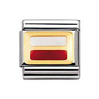 modulaire unisex bijoux Nomination Composable 030234/16
