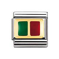 modulaire unisex bijoux Nomination Composable 030234/17