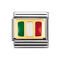 modulaire unisex bijoux Nomination Composable 030234/21