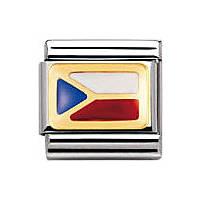 modulaire unisex bijoux Nomination Composable 030234/30