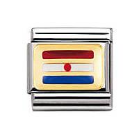 modulaire unisex bijoux Nomination Composable 030234/35
