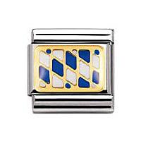 modulaire unisex bijoux Nomination Composable 030234/37