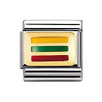 modulaire unisex bijoux Nomination Composable 030234/39