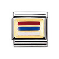 modulaire unisex bijoux Nomination Composable 030234/44