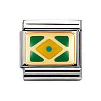 modulaire unisex bijoux Nomination Composable 030235/02