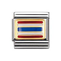 modulaire unisex bijoux Nomination Composable 030236/10