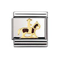 modulaire unisex bijoux Nomination Composable 030242/12
