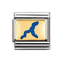 modulaire unisex bijoux Nomination Composable 030245/03