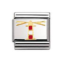 modulaire unisex bijoux Nomination Composable 030249/03