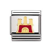 modulaire unisex bijoux Nomination Composable 030249/25