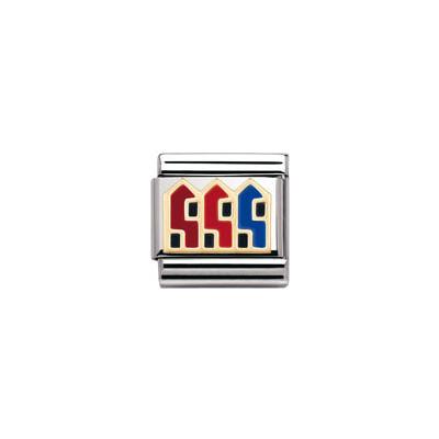 modulaire unisex bijoux Nomination Composable 030249/30