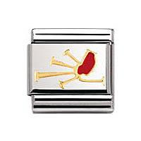 modulaire unisex bijoux Nomination Composable 030250/06